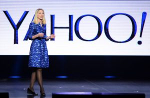 LAS VEGAS, NV - JANUARY 07: Yahoo! President and CEO Marissa Mayer delivers a keynote address at the 2014 International CES at The Las Vegas Hotel & Casino on January 7, 2014 in Las Vegas, Nevada. CES, the world's largest annual consumer technology trade show, runs through January 10 and is expected to feature 3,200 exhibitors showing off their latest products and services to about 150,000 attendees. (Photo by Ethan Miller/Getty Images)